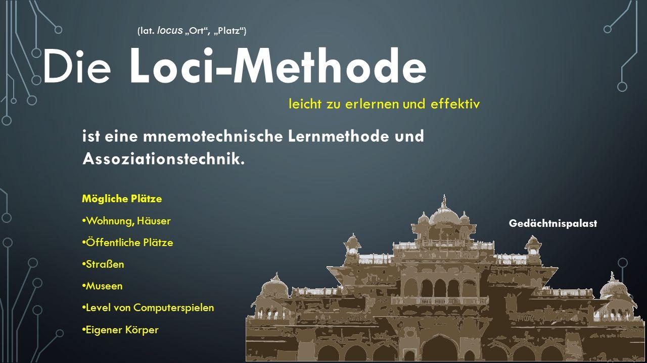 """(lat. locus """"Ort , """"Platz )"""