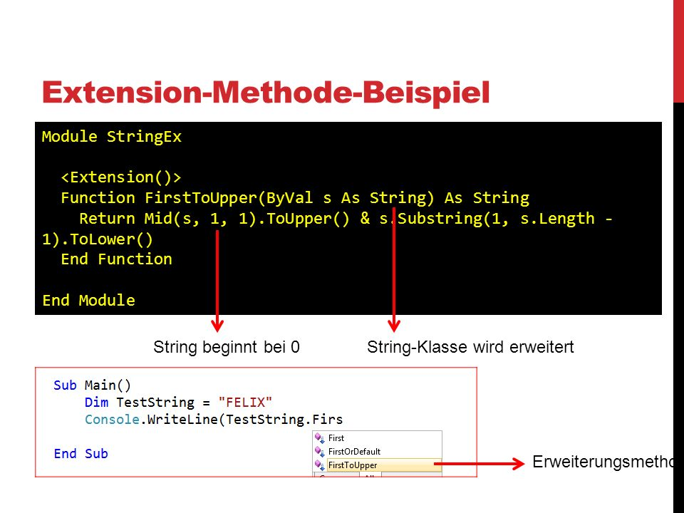 Extension-Methode-Beispiel
