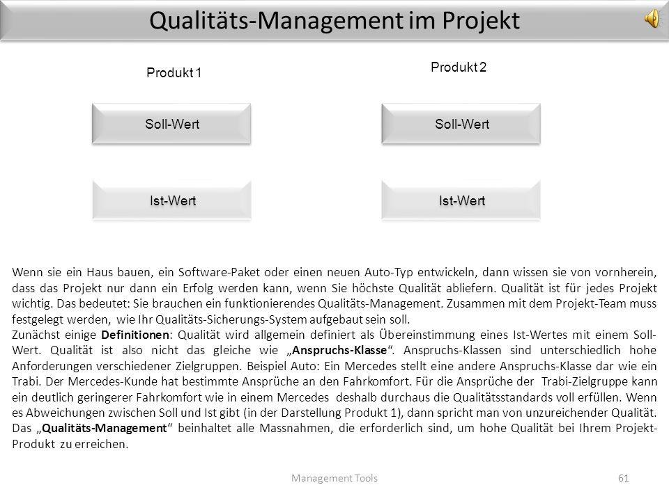 Qualitäts-Management im Projekt