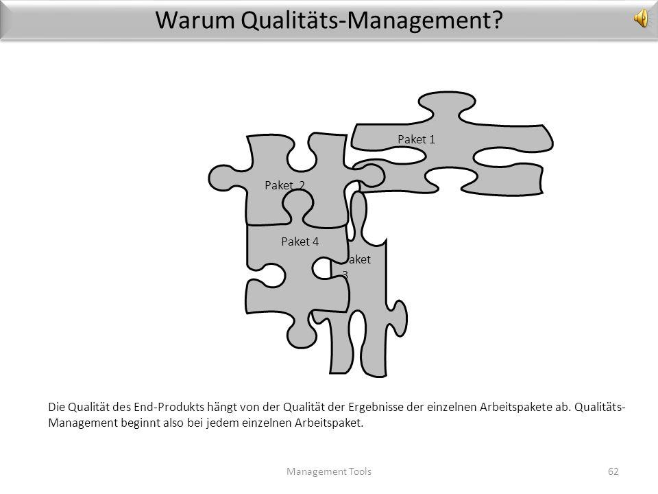 Warum Qualitäts-Management