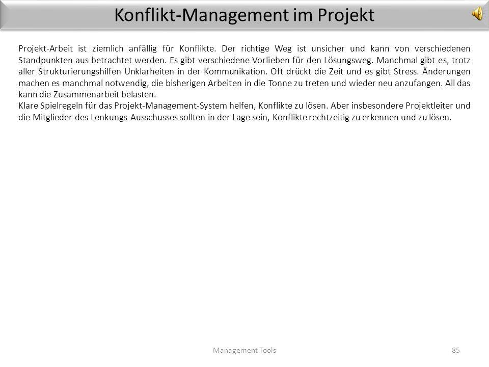 Konflikt-Management im Projekt