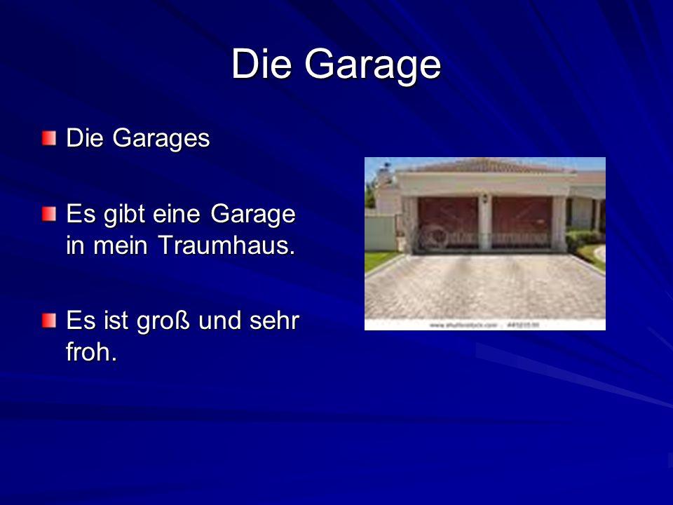 Die Garage Die Garages Es gibt eine Garage in mein Traumhaus.