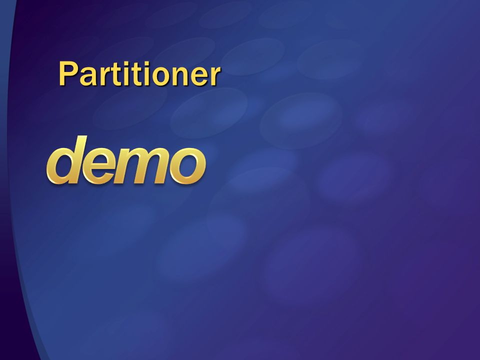 demo Partitioner 3/28/2017 1:58 PM