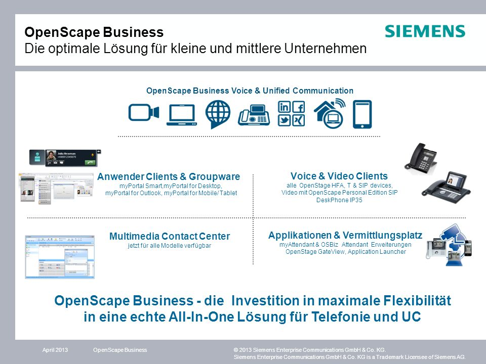 OpenScape Business Voice & Unified Communication