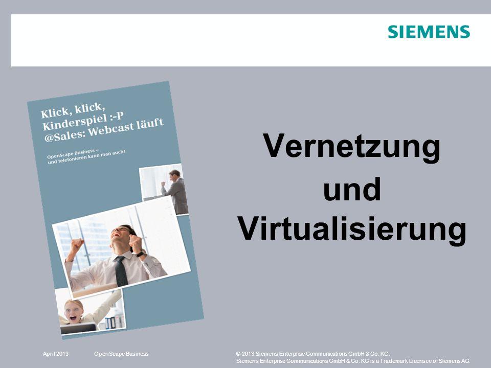 Vernetzung und Virtualisierung