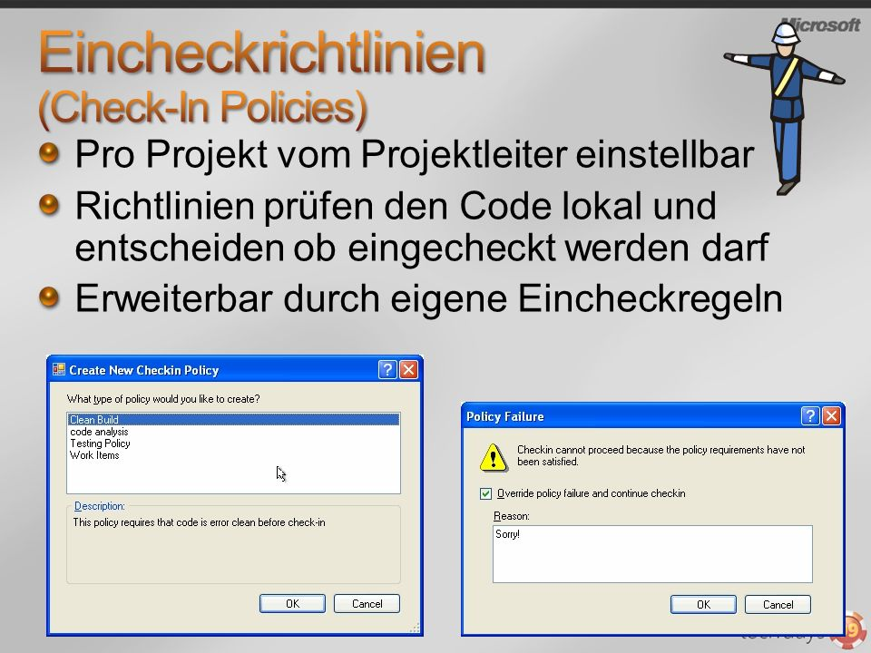 Eincheckrichtlinien (Check-In Policies)
