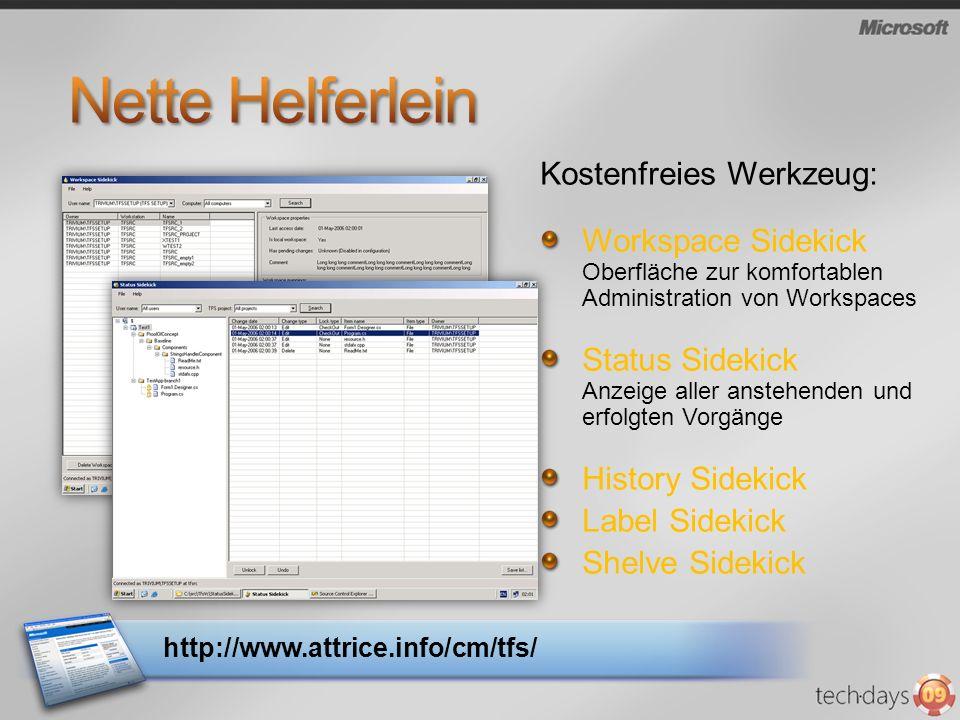 Nette Helferlein Kostenfreies Werkzeug: