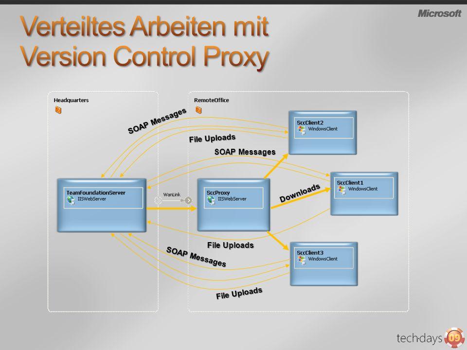 Verteiltes Arbeiten mit Version Control Proxy