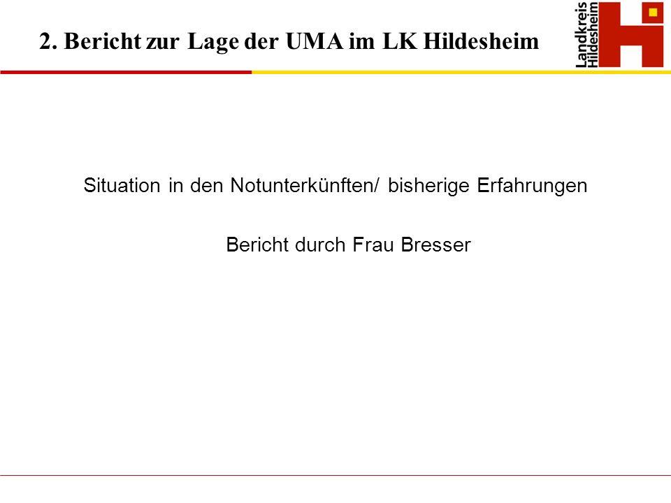 2. Bericht zur Lage der UMA im LK Hildesheim