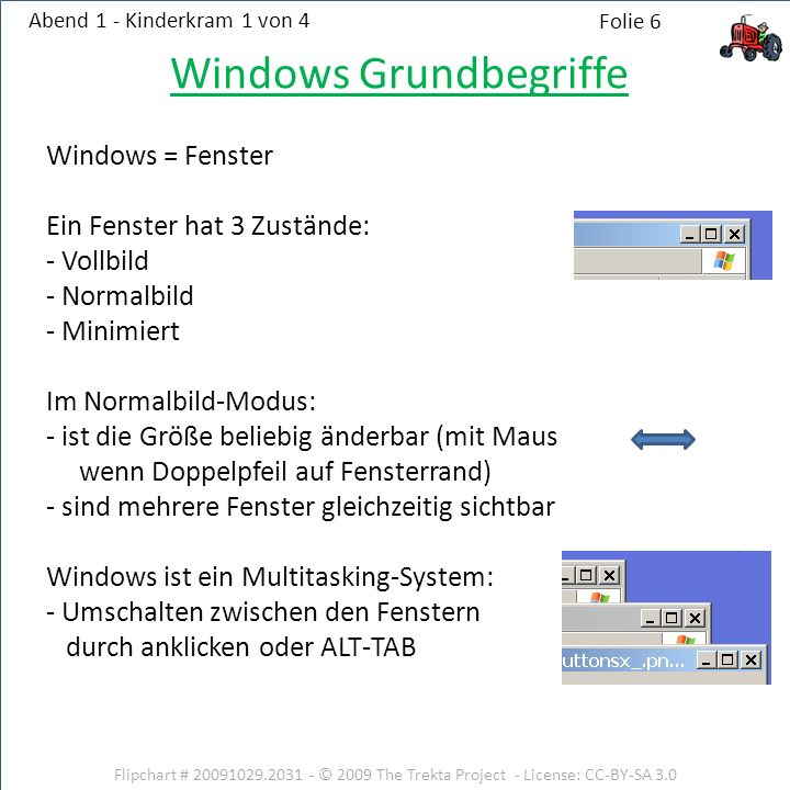 Windows Grundbegriffe