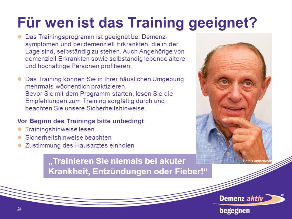 Für wen ist das Training geeignet