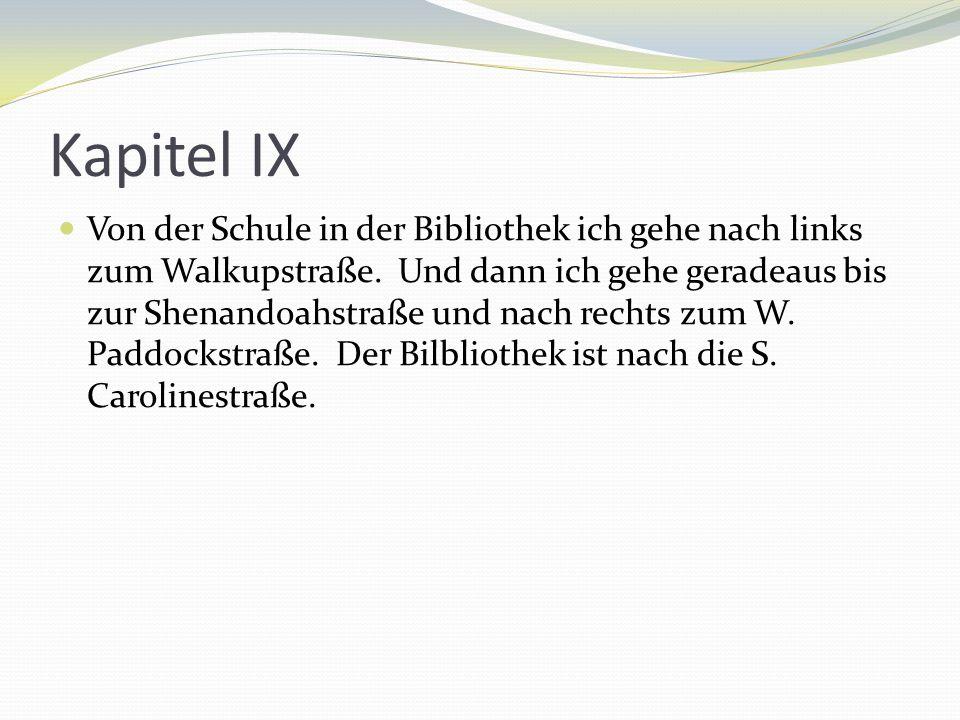Kapitel IX
