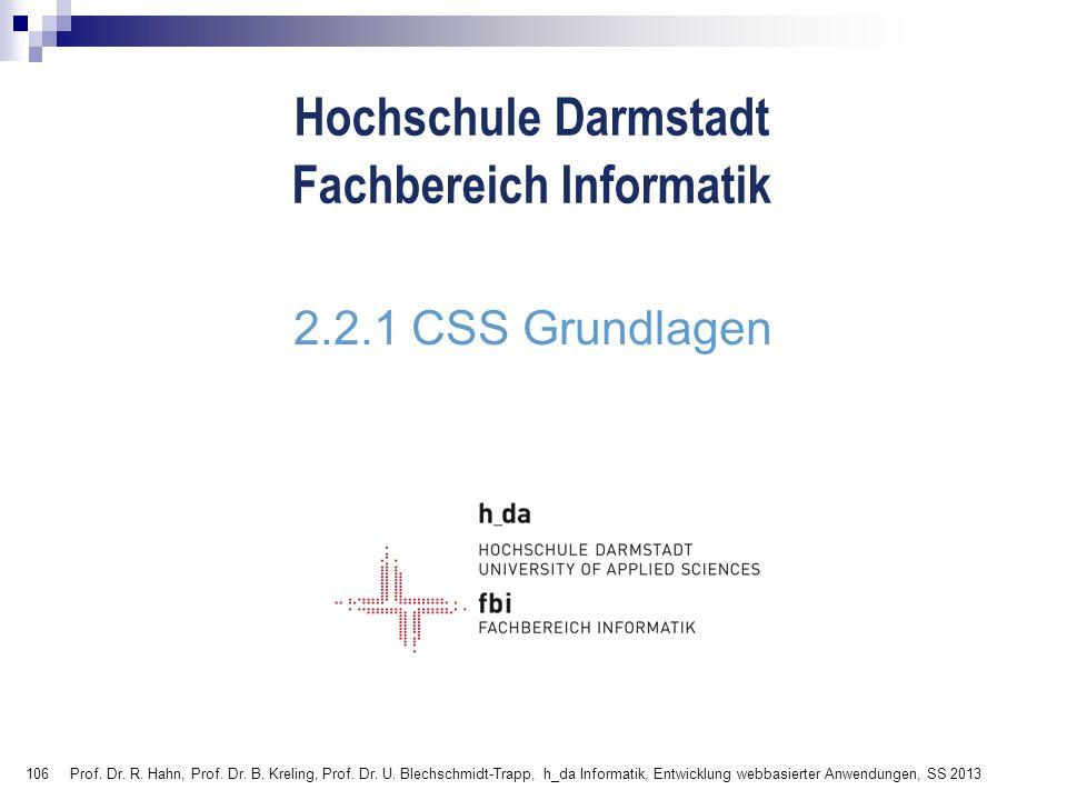 2.2.1 CSS Grundlagen