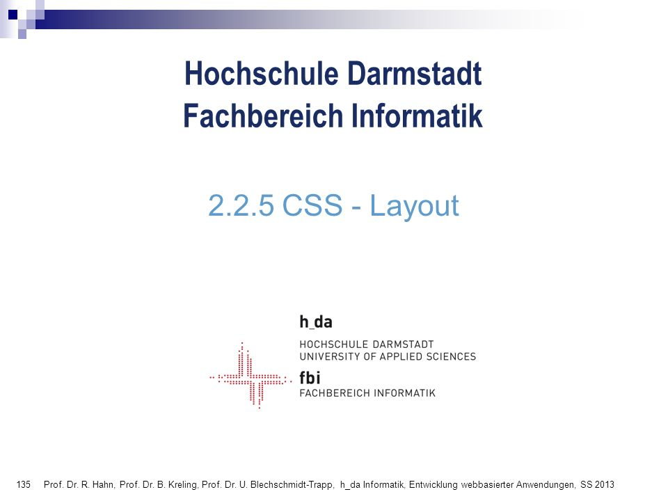 2.2.5 CSS - Layout