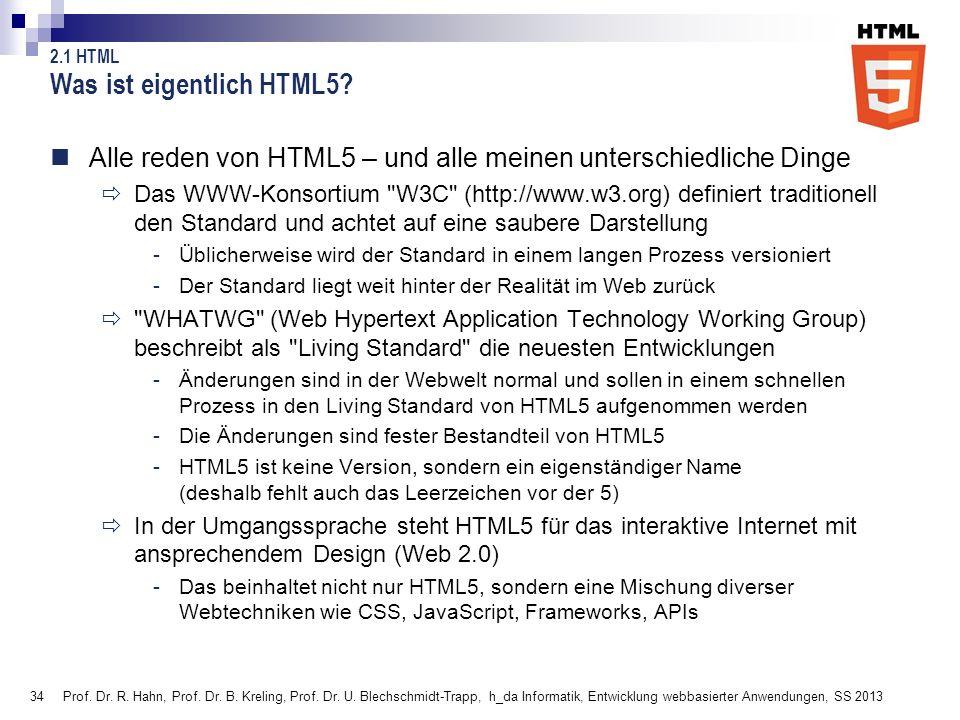 Was ist eigentlich HTML5