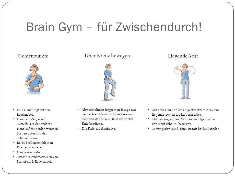 Brain Gym – für Zwischendurch!