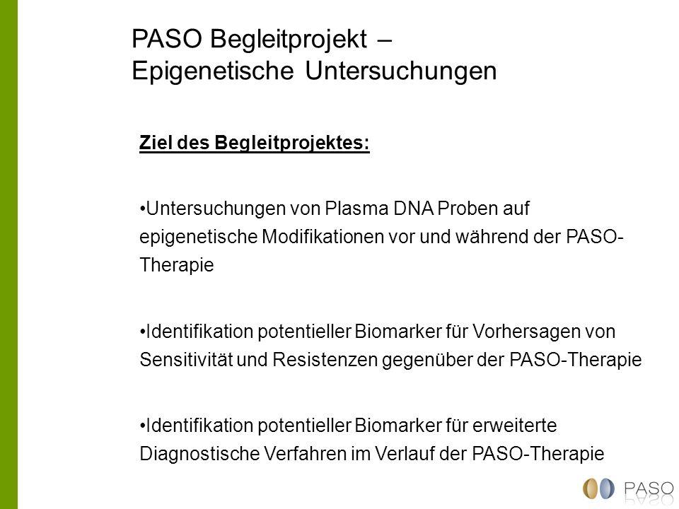PASO Begleitprojekt – Epigenetische Untersuchungen