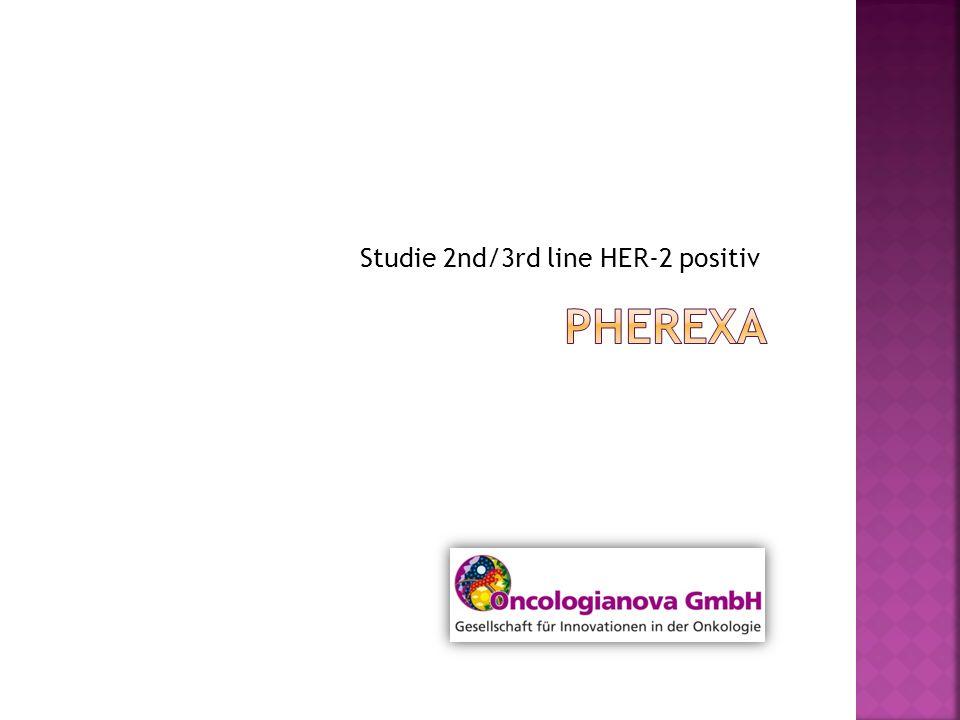 Studie 2nd/3rd line HER-2 positiv