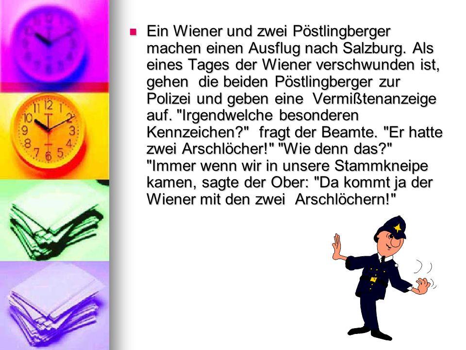 Ein Wiener und zwei Pöstlingberger machen einen Ausflug nach Salzburg
