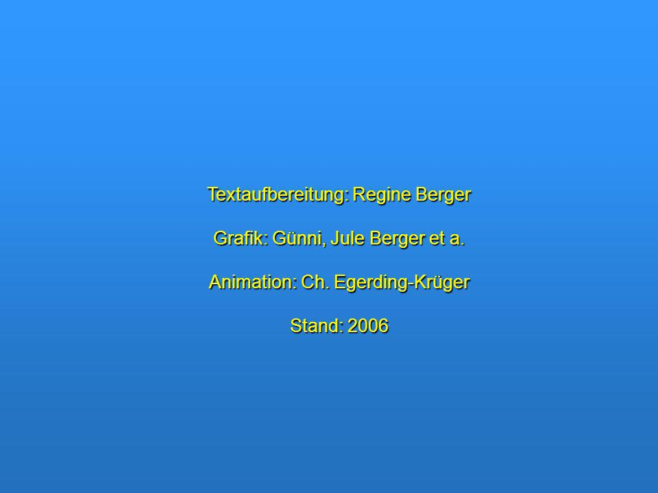 Textaufbereitung: Regine Berger Grafik: Günni, Jule Berger et a.