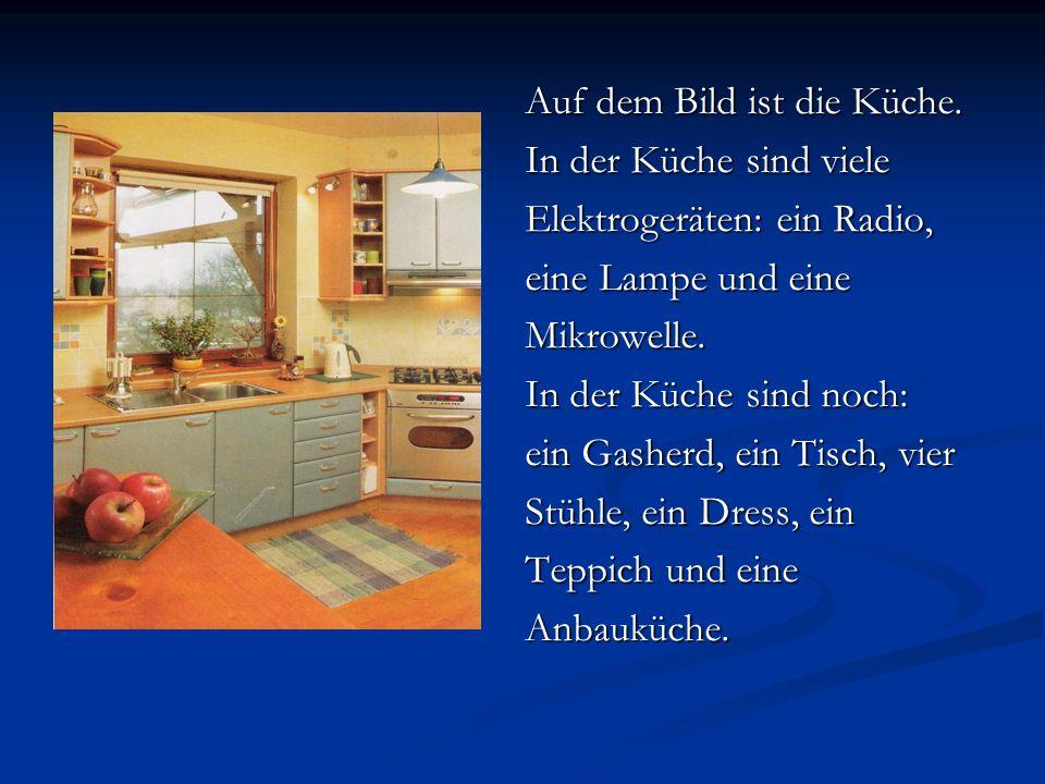 Auf dem Bild ist die Küche.