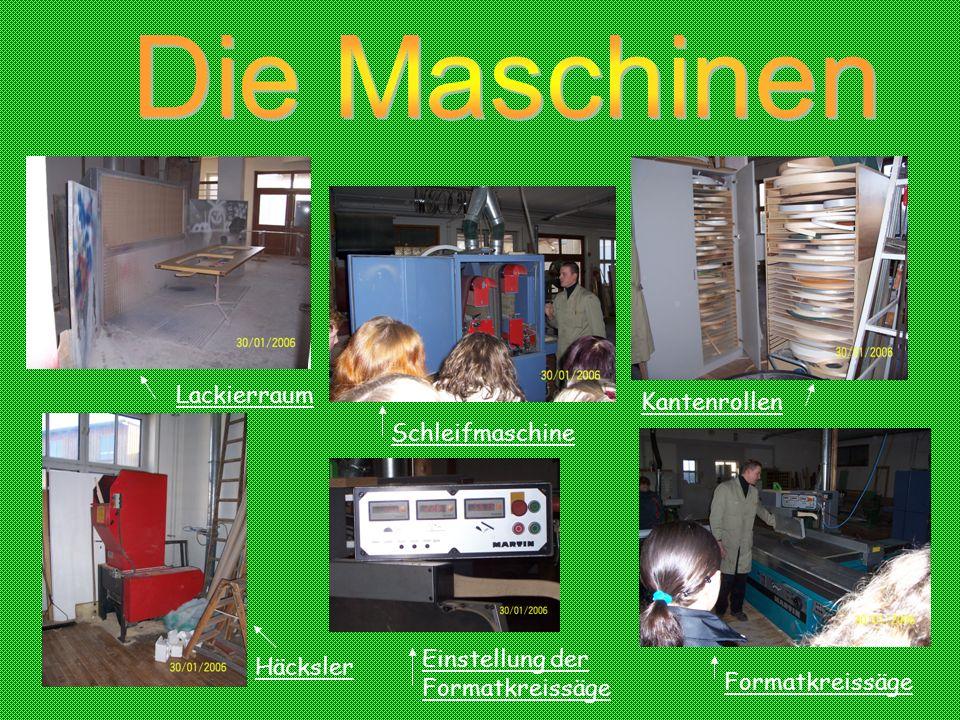 Die Maschinen Lackierraum Kantenrollen Schleifmaschine