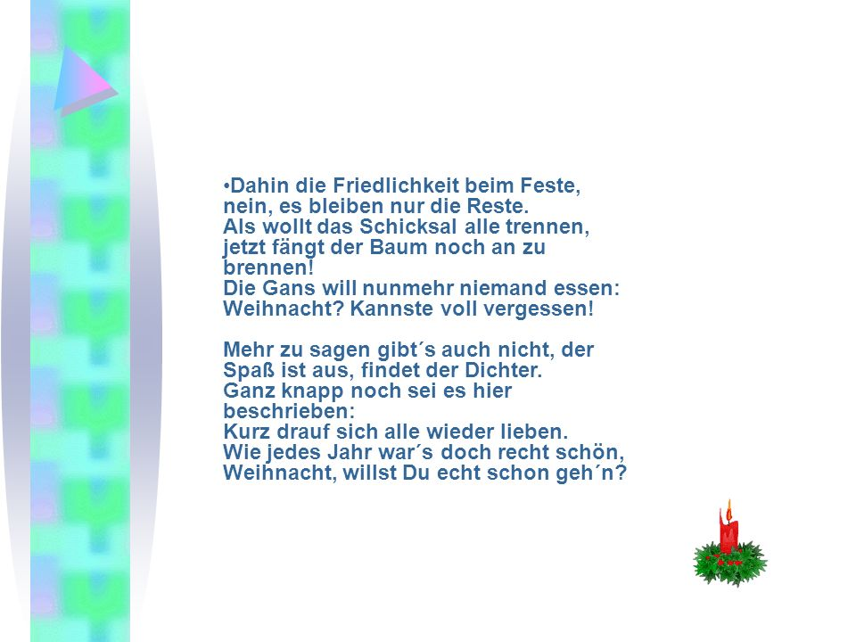 n beknacktes weihnachtsgedicht ppt video online. Black Bedroom Furniture Sets. Home Design Ideas
