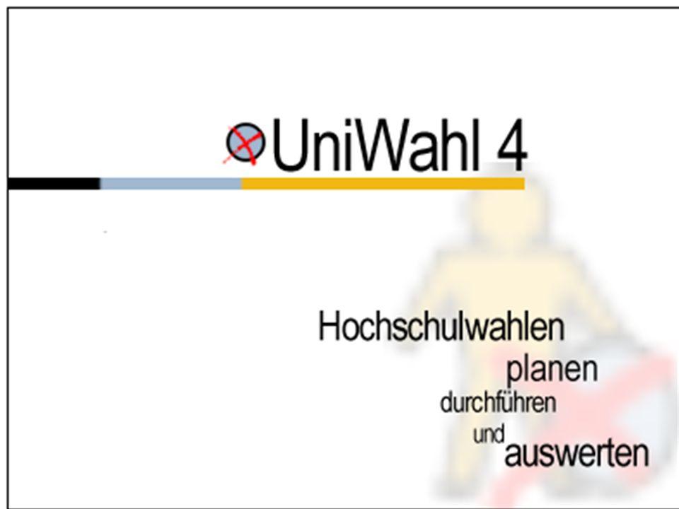 Das universelle Programm zur Verwaltung der Wahlen von Hochschulgremien, Personal- und Betriebsräten u.a.