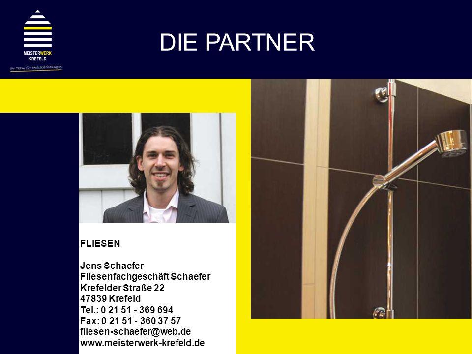 DIE PARTNER FLIESEN Jens Schaefer Fliesenfachgeschäft Schaefer