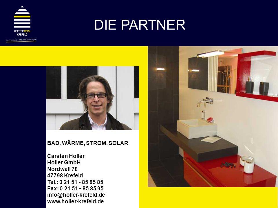 DIE PARTNER BAD, WÄRME, STROM, SOLAR Carsten Holler Holler GmbH