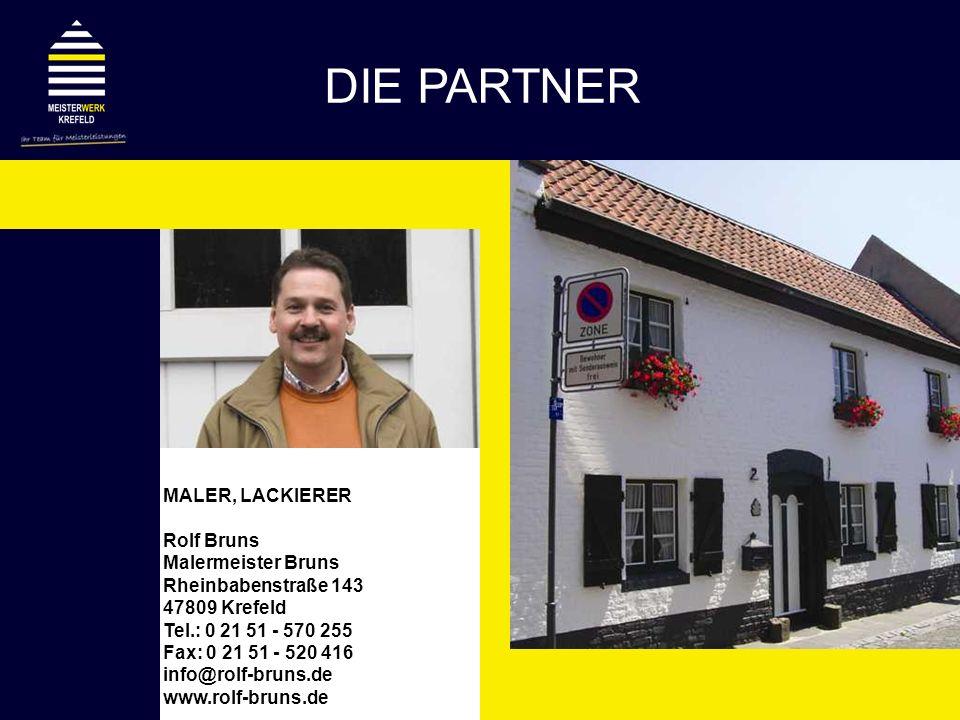 DIE PARTNER MALER, LACKIERER Rolf Bruns Malermeister Bruns