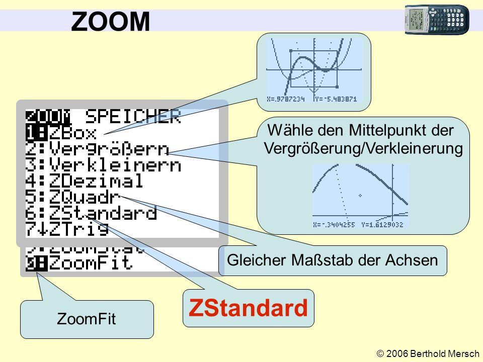 ZOOM ZStandard Wähle den Mittelpunkt der Vergrößerung/Verkleinerung