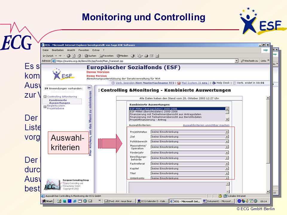 Monitoring und Controlling