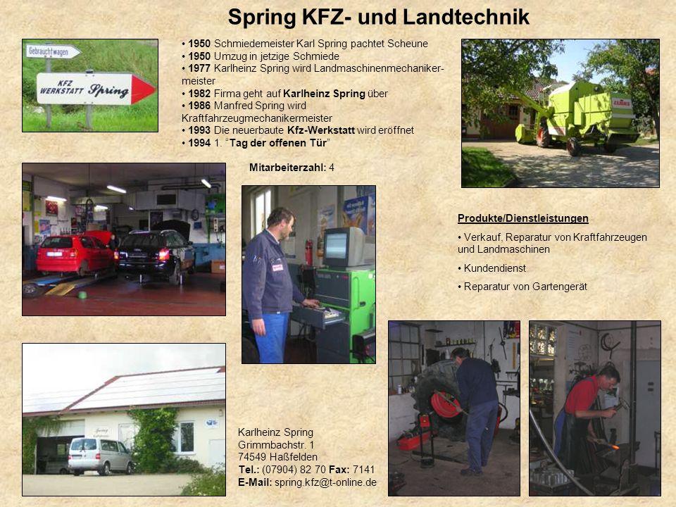 Spring KFZ- und Landtechnik
