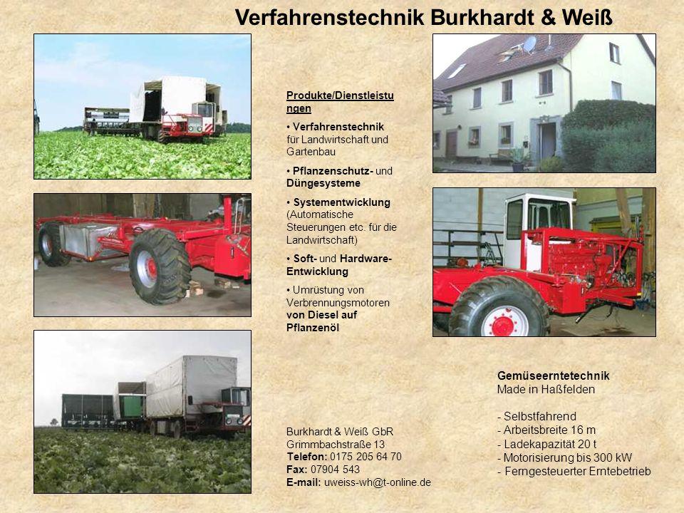 Verfahrenstechnik Burkhardt & Weiß