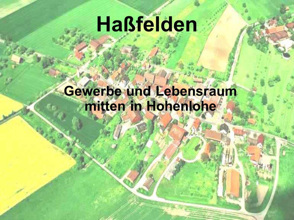 Gewerbe und Lebensraum mitten in Hohenlohe