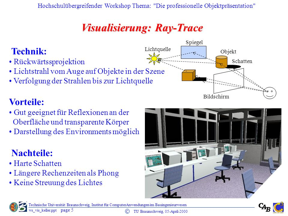 Visualisierung: Ray-Trace