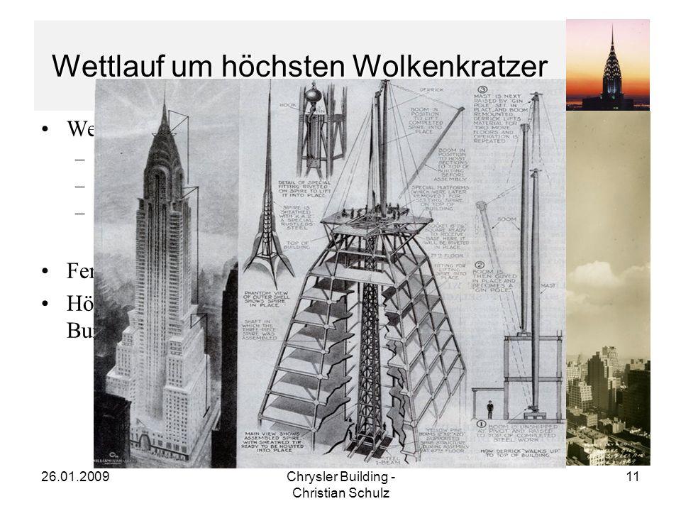 Wettlauf um höchsten Wolkenkratzer