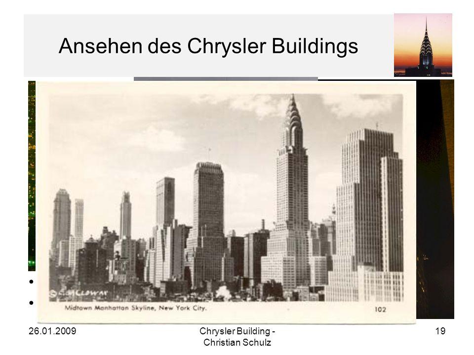 Ansehen des Chrysler Buildings