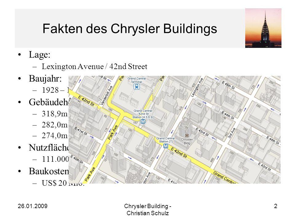 Fakten des Chrysler Buildings