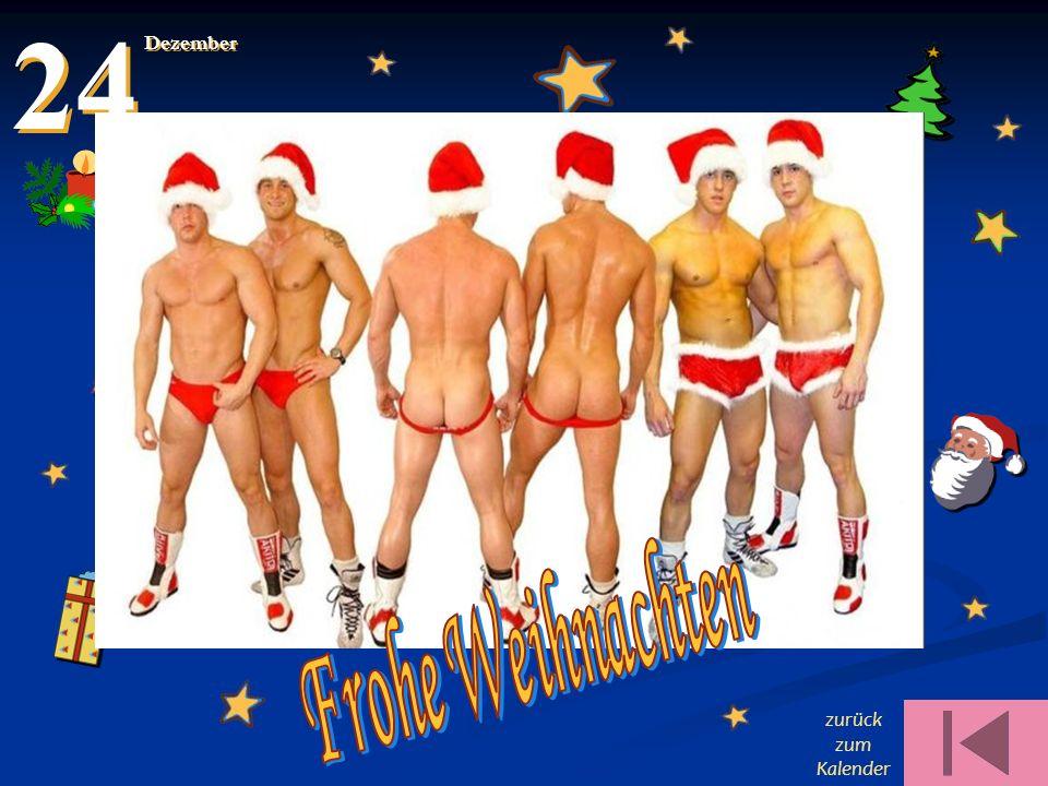 24 Dezember Frohe Weihnachten zurück zum Kalender