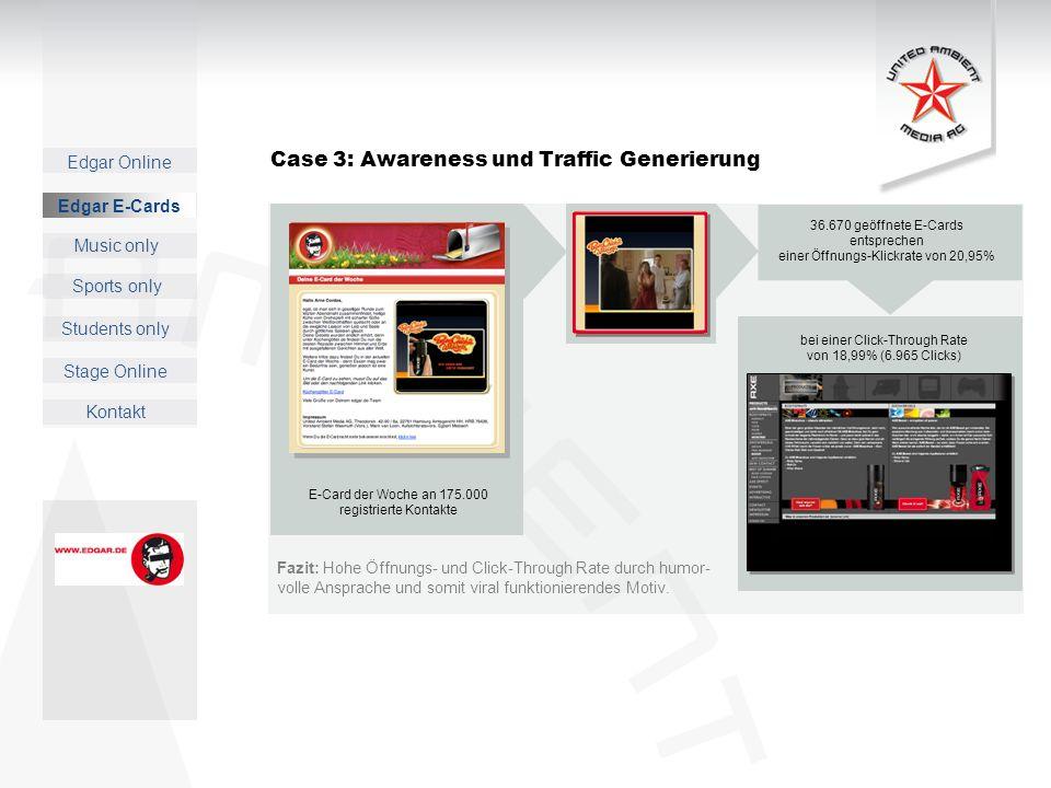 Case 3: Awareness und Traffic Generierung