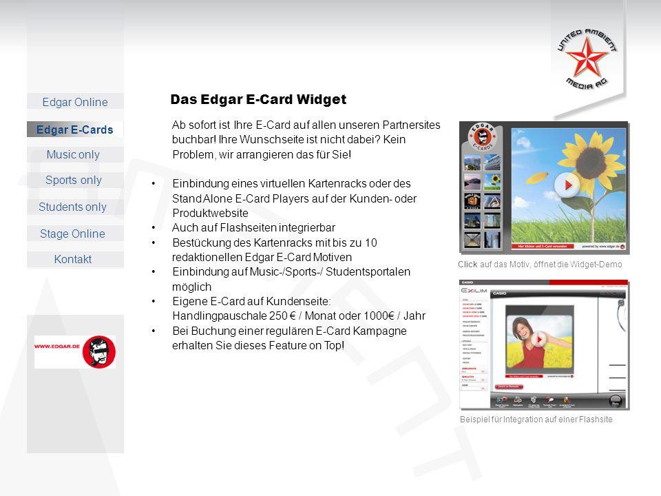 Das Edgar E-Card Widget