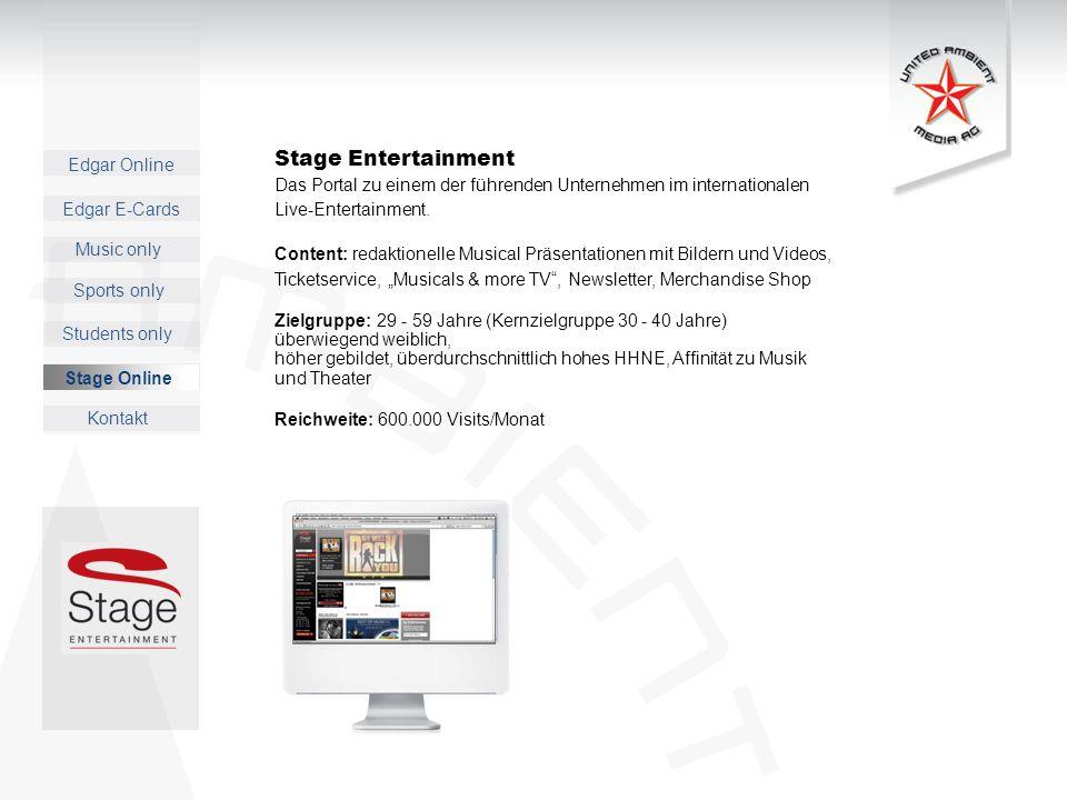 Stage Entertainment Das Portal zu einem der führenden Unternehmen im internationalen. Live-Entertainment.