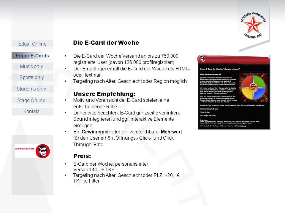 Die E-Card der Woche Preis: