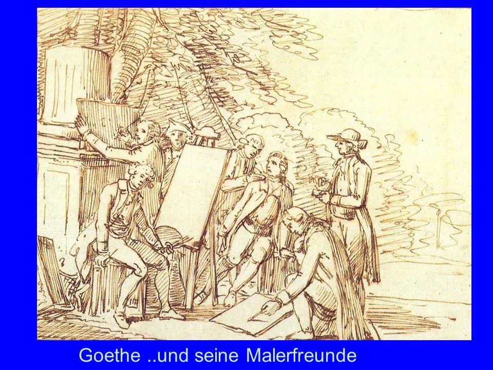 Goethe ..und seine Malerfreunde