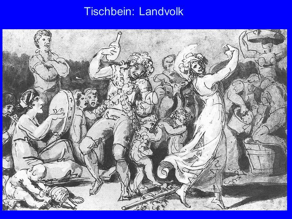Tischbein: Landvolk