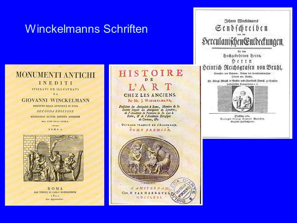 Winckelmanns Schriften