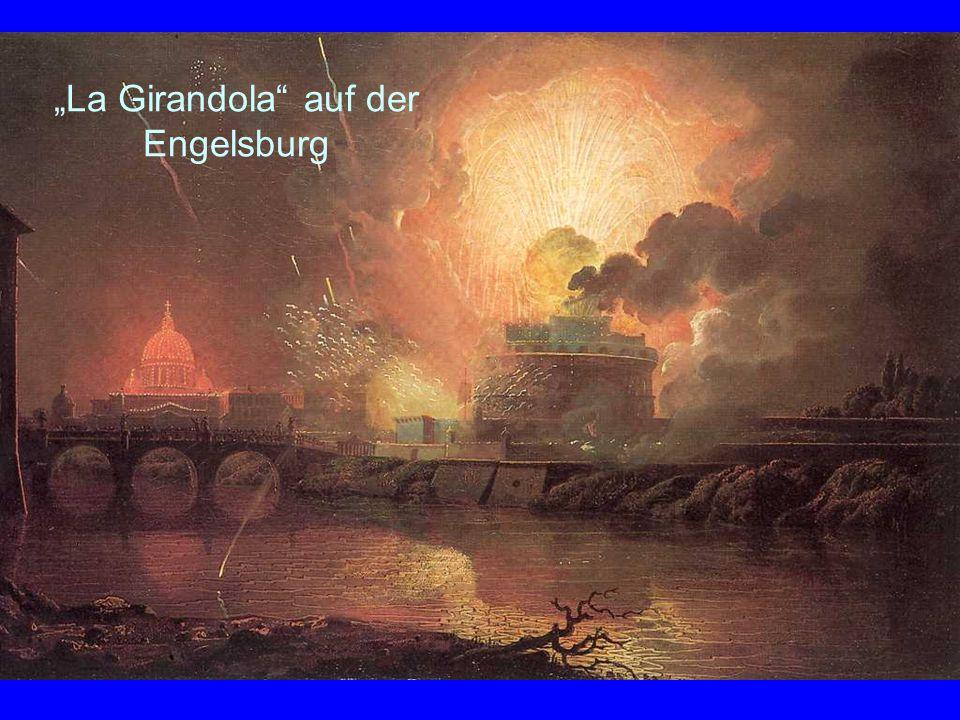 """""""La Girandola auf der Engelsburg"""