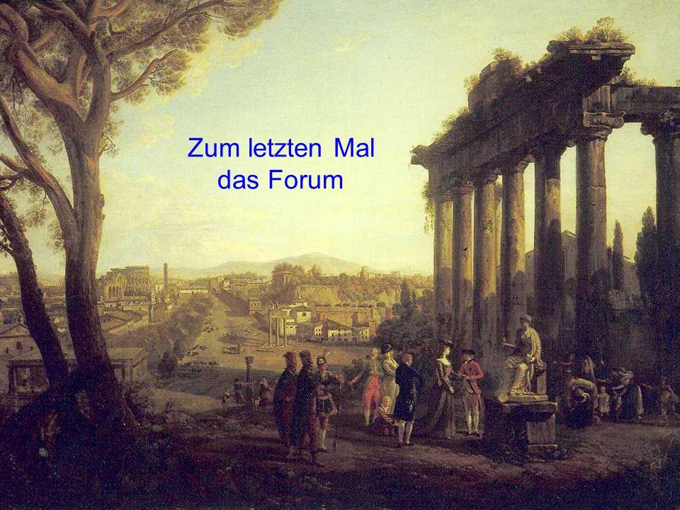Zum letzten Mal das Forum
